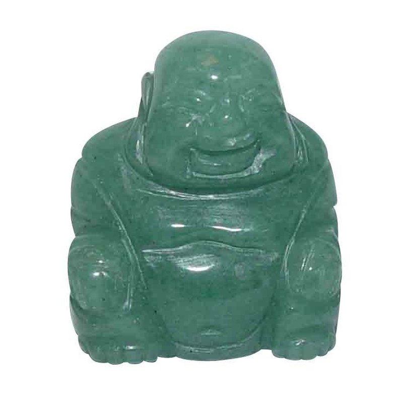 Aventurin Buddha Ca 25 X 30 Mm Aus Echtem Edelstein Happy