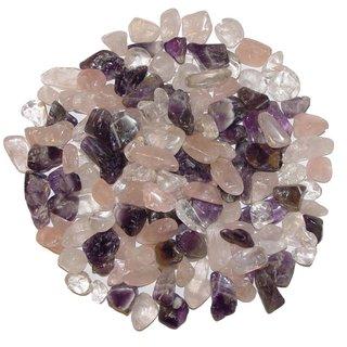 Kleine Trommelsteine Bergkristall Ladesteine Edelsteine Heilsteine 50 g