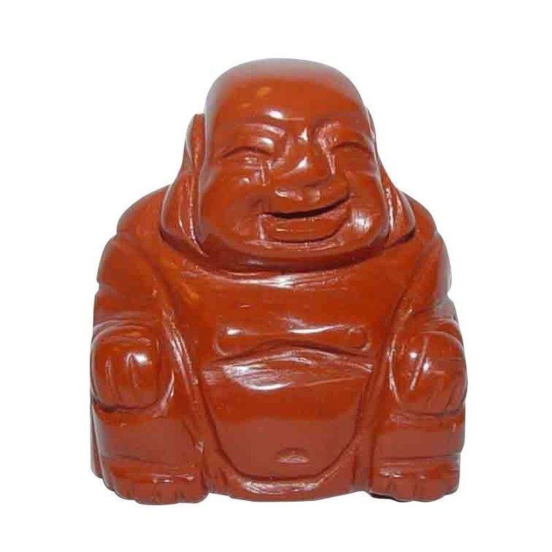 Jaspis Rot Buddha X 30 Mm Happy Buddha Sitzend