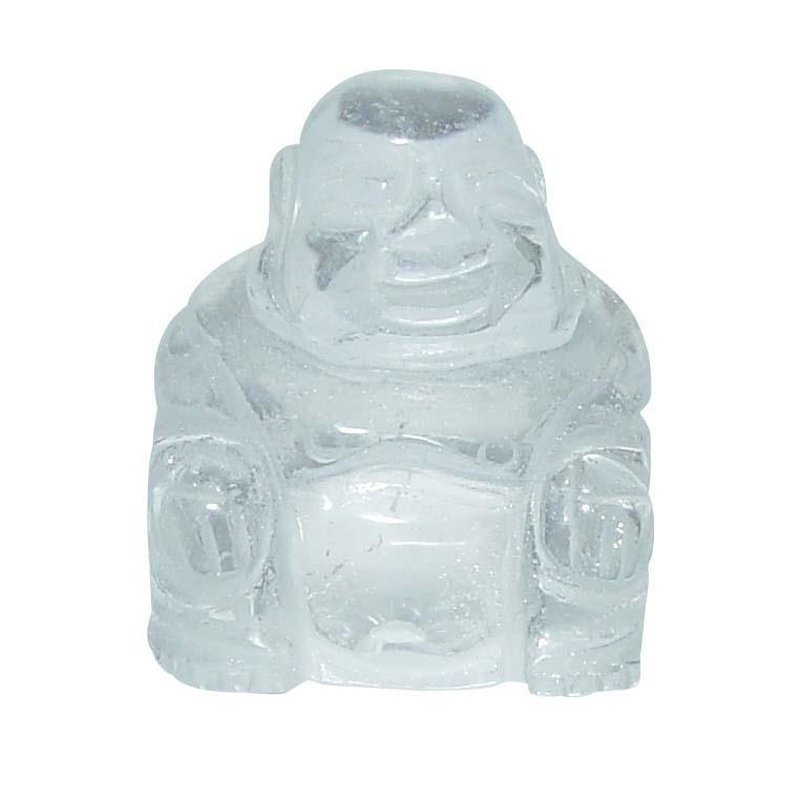 Bergkristall Buddha Ca 25 X 30 Mm Aus Echtem Edelstein